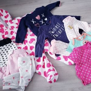 BABY 3-6 MONTH GIRL LOT
